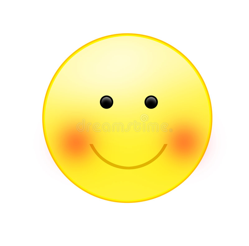 χαμογελώντας ήλιος διανυσματική απεικόνιση