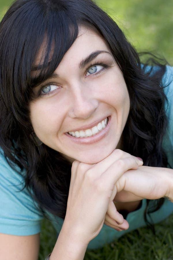 χαμογελώντας γυναίκα στοκ φωτογραφίες με δικαίωμα ελεύθερης χρήσης