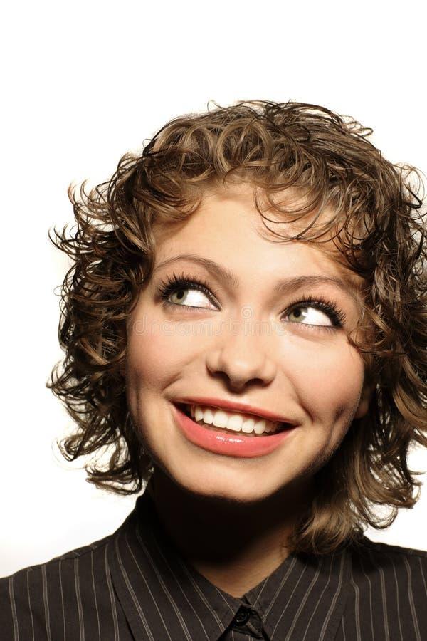 χαμογελώντας γυναίκα στοκ εικόνες