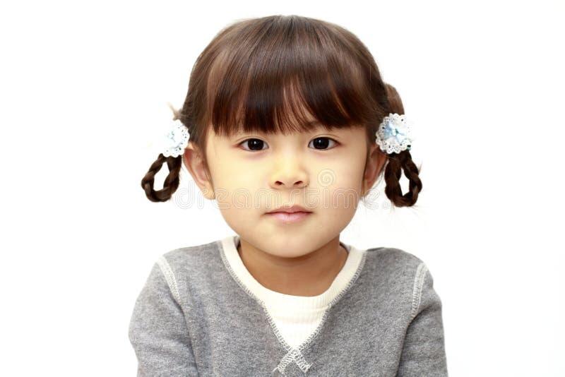 Χαμογελώντας ιαπωνικό κορίτσι στοκ φωτογραφίες με δικαίωμα ελεύθερης χρήσης