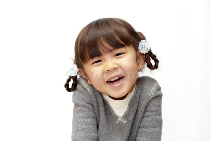 Χαμογελώντας ιαπωνικό κορίτσι στοκ εικόνα με δικαίωμα ελεύθερης χρήσης