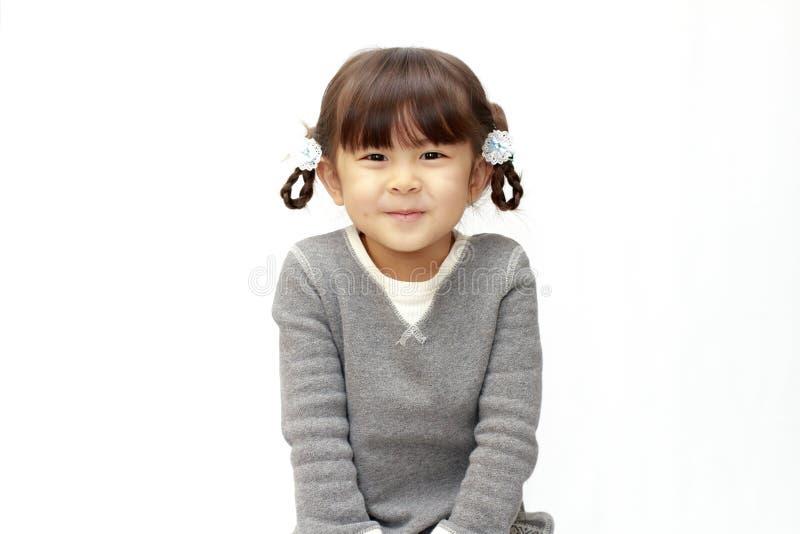 Χαμογελώντας ιαπωνικό κορίτσι στοκ εικόνες με δικαίωμα ελεύθερης χρήσης