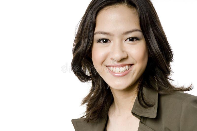 Χαμογελώντας κορίτσι στοκ εικόνες με δικαίωμα ελεύθερης χρήσης