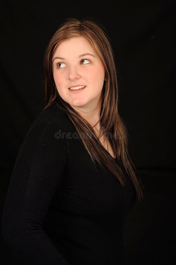 χαμογελώντας νεολαίες γυναικών στοκ εικόνα με δικαίωμα ελεύθερης χρήσης