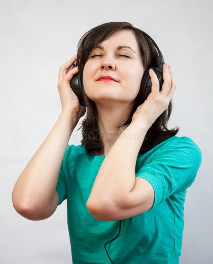 χαμόγελο ακουστικών κο στοκ εικόνες με δικαίωμα ελεύθερης χρήσης