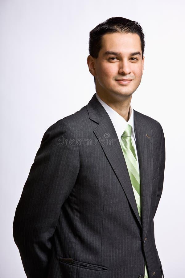 Download χαμόγελο επιχειρηματιών στοκ εικόνα. εικόνα από χαμόγελο - 17054105