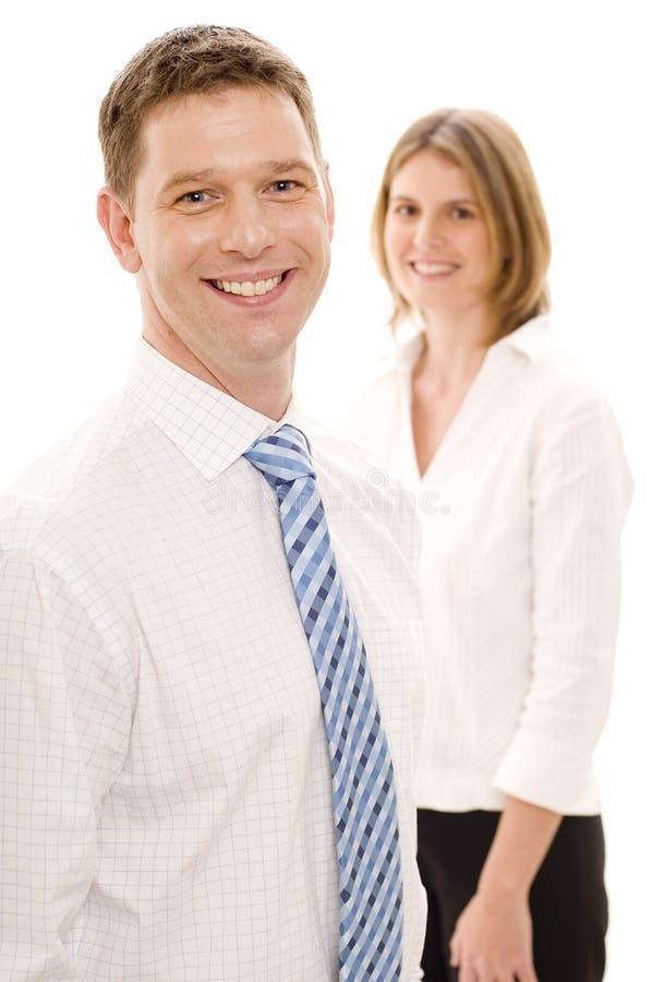 χαμόγελο επιχειρηματιών στοκ εικόνα