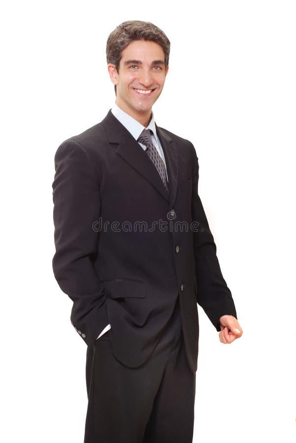 χαμόγελο επιχειρηματιών &e στοκ εικόνα με δικαίωμα ελεύθερης χρήσης