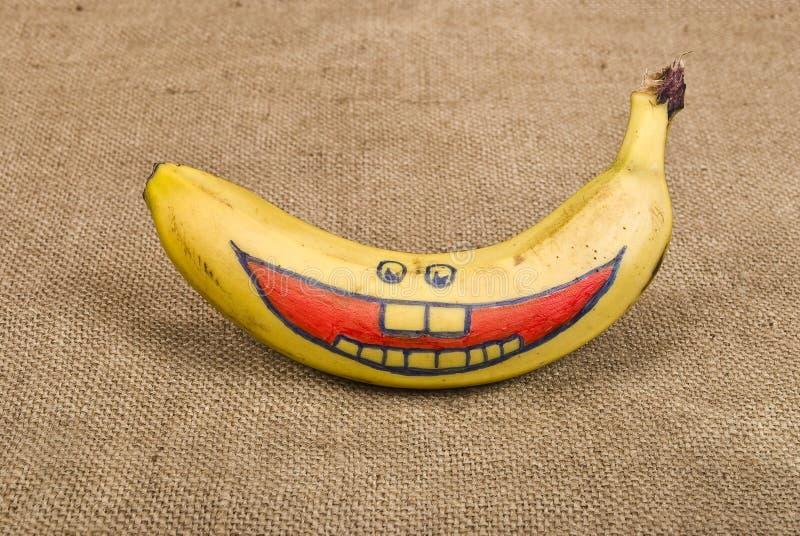 χαμόγελο μπανανών στοκ εικόνες