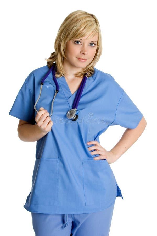 χαμόγελο νοσοκόμων στοκ φωτογραφίες