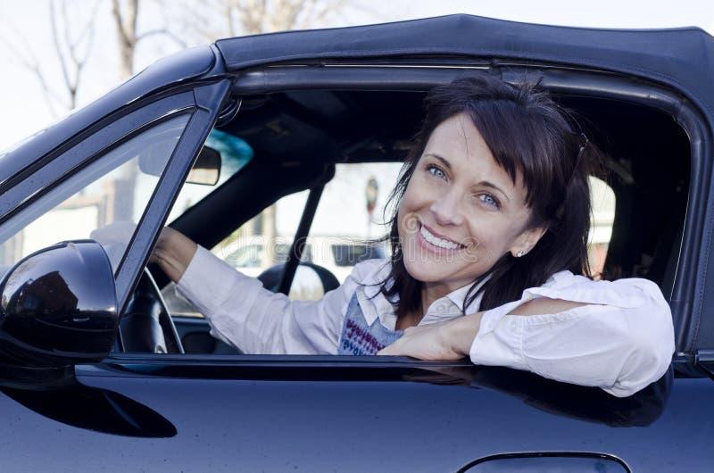χαμόγελο οδηγών στοκ φωτογραφίες
