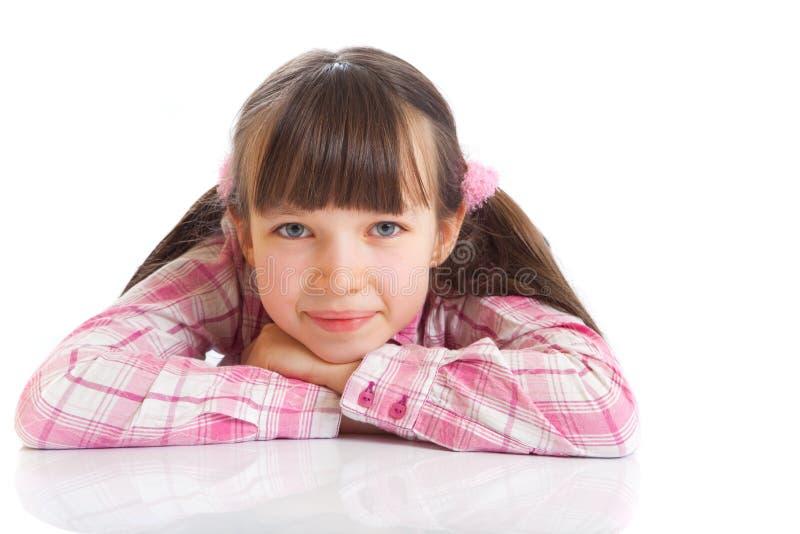 χαμόγελο πλεξίδων κοριτ&s στοκ φωτογραφία με δικαίωμα ελεύθερης χρήσης