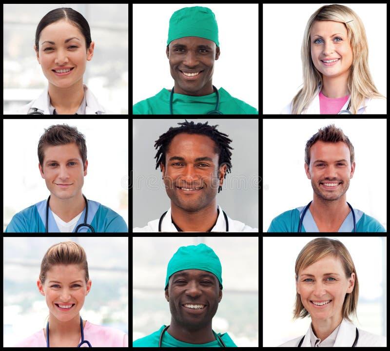 χαμόγελο πορτρέτων γιατρώ&n στοκ εικόνα με δικαίωμα ελεύθερης χρήσης