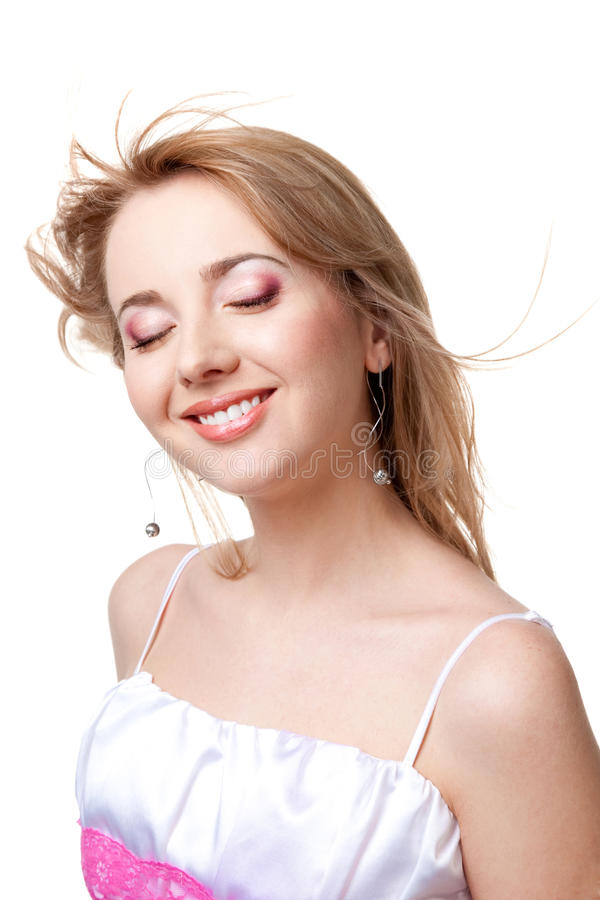 χαμόγελο τριχώματος κορ&i στοκ εικόνα