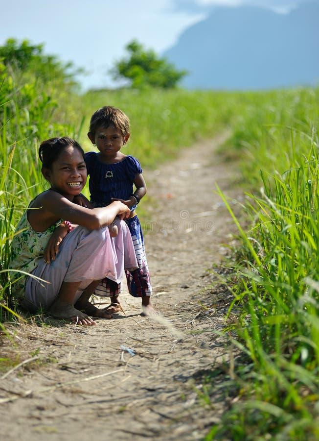 Χαμόγελα από το νησί Maiga, Semporna στοκ φωτογραφίες με δικαίωμα ελεύθερης χρήσης
