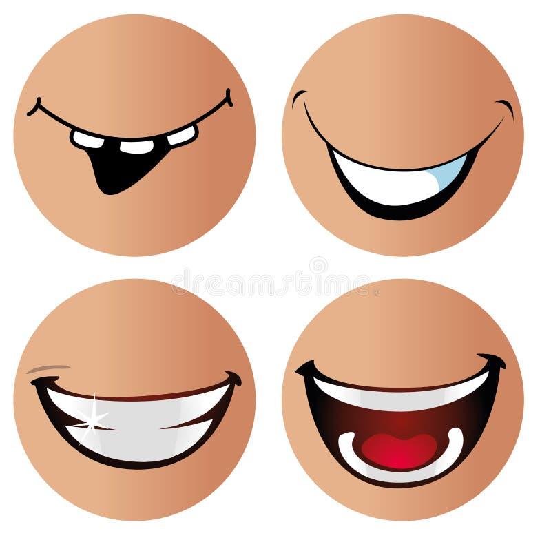 Χαμόγελα απεικόνιση αποθεμάτων