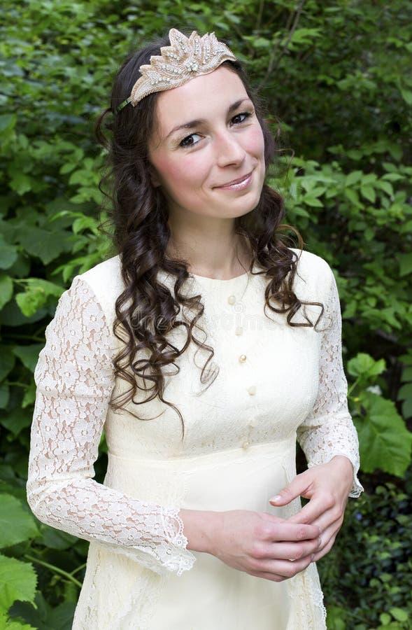 χαμόγελο πριγκηπισσών στοκ φωτογραφία με δικαίωμα ελεύθερης χρήσης