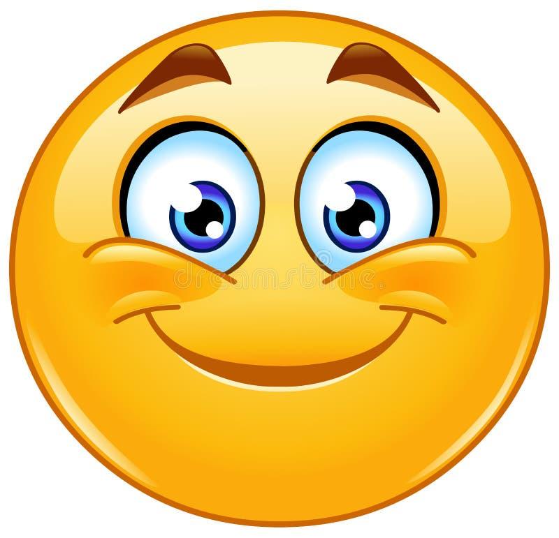 Χαμόγελο emoticon ελεύθερη απεικόνιση δικαιώματος
