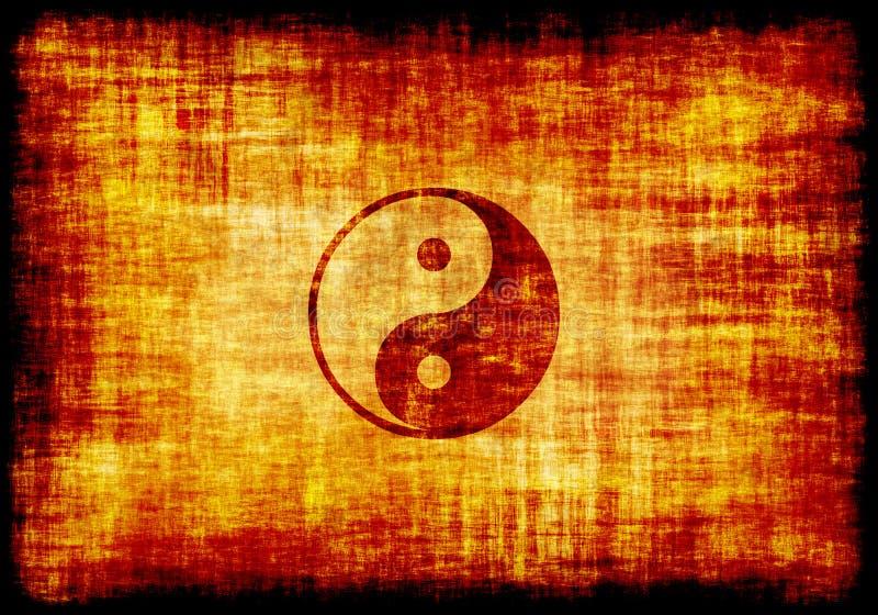 χαραγμένο σύμβολο περγα&mu διανυσματική απεικόνιση