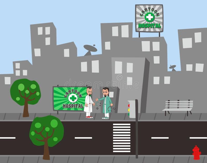 Download Χαρακτήρας κινουμένων σχεδίων γιατρών Διανυσματική απεικόνιση - εικονογραφία από πρεσβύτερος, μοιχαλίδα: 62713201
