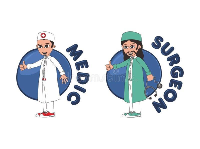 Download Χαρακτήρας κινουμένων σχεδίων γιατρών Διανυσματική απεικόνιση - εικονογραφία από υπόδειξη, υπολογιστής: 62713249