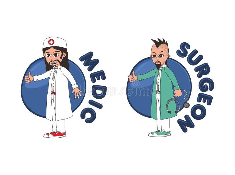Download Χαρακτήρας κινουμένων σχεδίων γιατρών Διανυσματική απεικόνιση - εικονογραφία από απεικόνιση, εγγράφων: 62713255