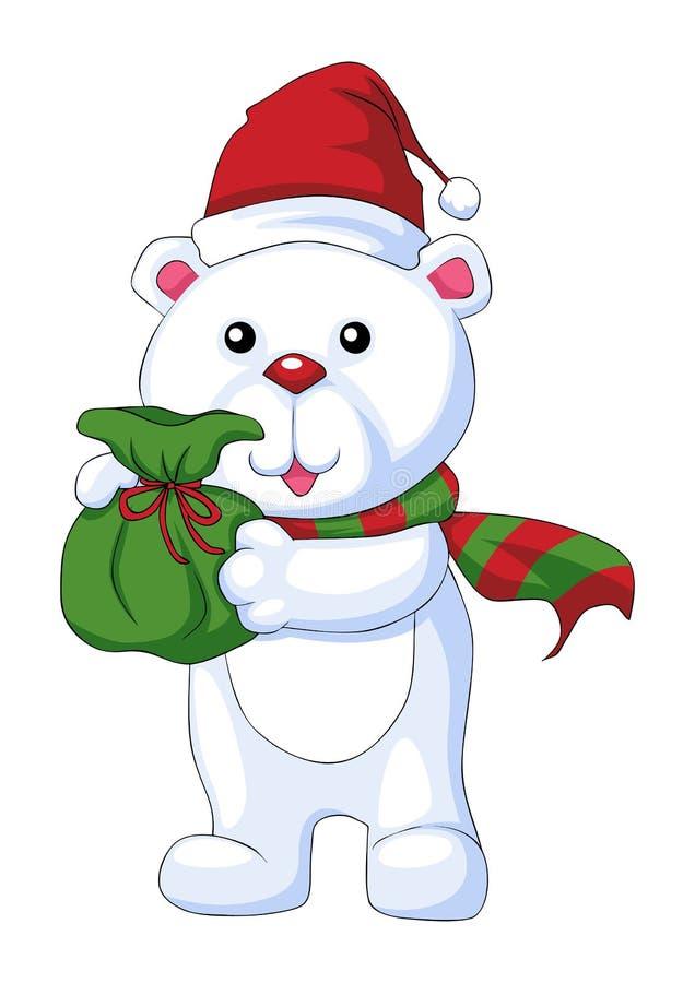 χαρακτήρας Χριστουγέννων ελεύθερη απεικόνιση δικαιώματος