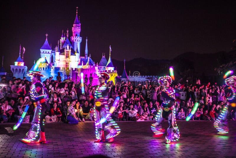 Χαρακτήρες νεράιδων Disneyland στοκ εικόνες