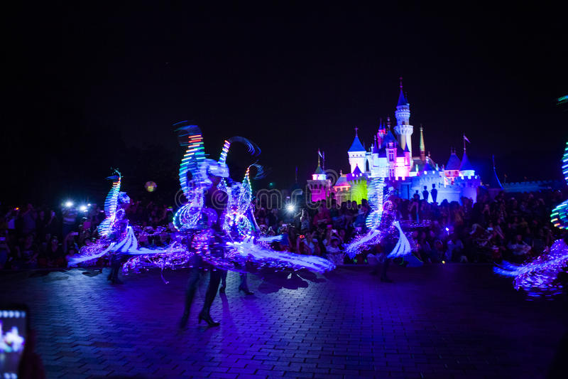 Χαρακτήρες νεράιδων Disneyland στοκ φωτογραφία με δικαίωμα ελεύθερης χρήσης
