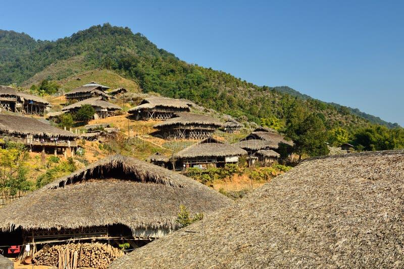 Χαρακτηριστική καλύβα σε Arunachal Pradesh, Ινδία στοκ φωτογραφία με δικαίωμα ελεύθερης χρήσης