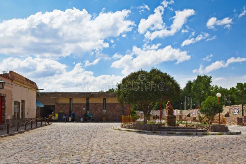 Χαρακτηριστική οδός Humahuaca στοκ φωτογραφίες με δικαίωμα ελεύθερης χρήσης