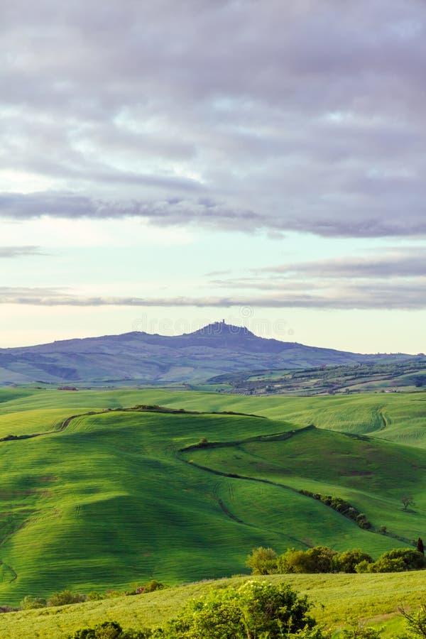 Χαρακτηριστική Tuscan όμορφη άποψη στοκ εικόνες