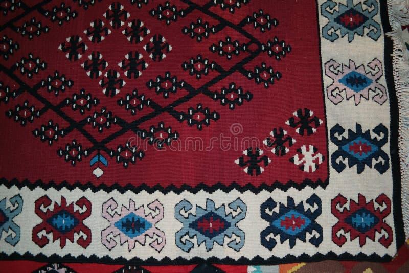 Χαρακτηριστικός βοσνιακός τάπητας στοκ εικόνες με δικαίωμα ελεύθερης χρήσης
