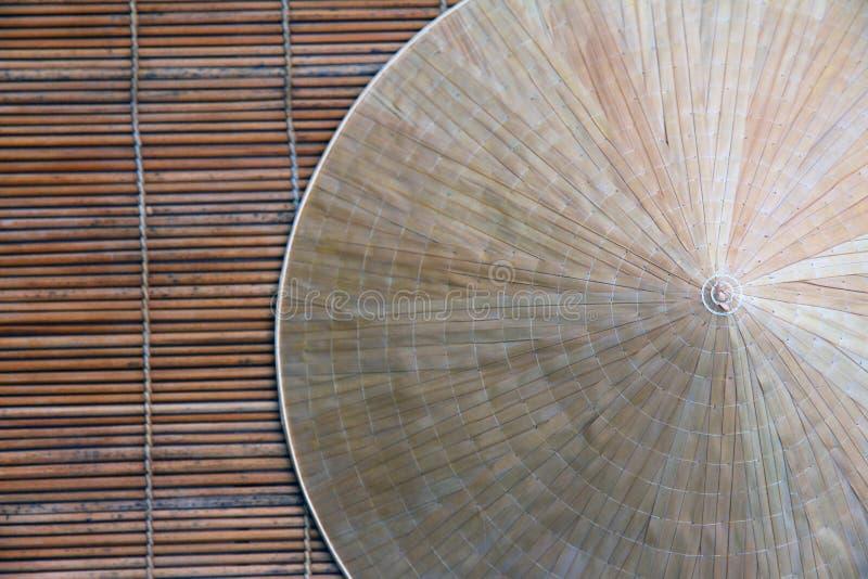 Χαρακτηριστικό καπέλο Βιετνάμ στοκ εικόνες