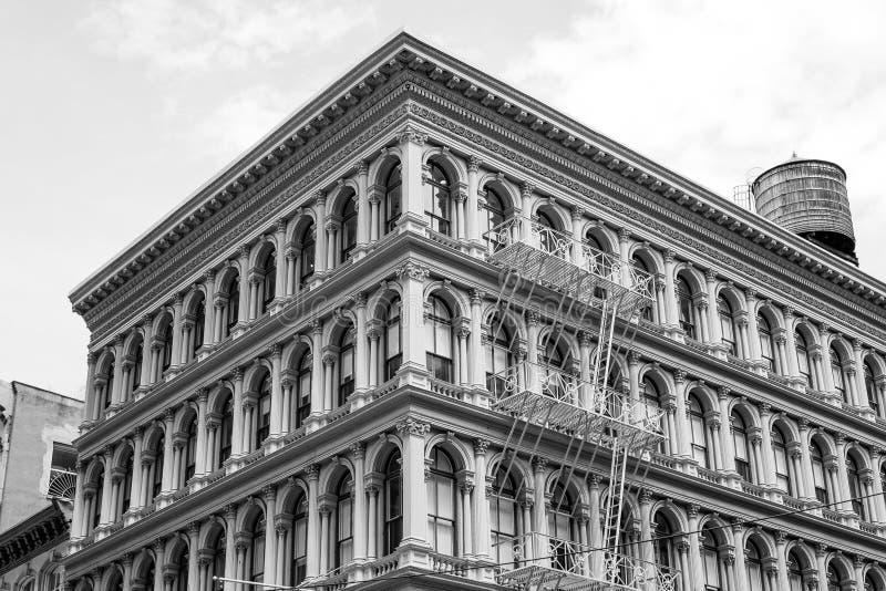 Χαρακτηριστικό κτήριο SoHo στοκ φωτογραφία με δικαίωμα ελεύθερης χρήσης