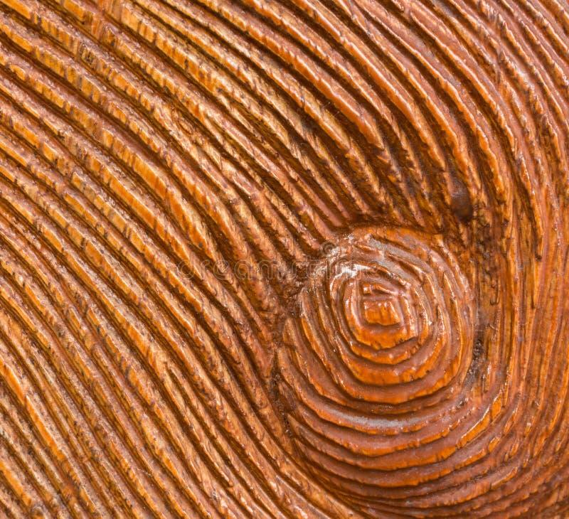Χαρασμένη δίνη στο ξύλινο υπόβαθρο σύστασης στοκ εικόνες με δικαίωμα ελεύθερης χρήσης