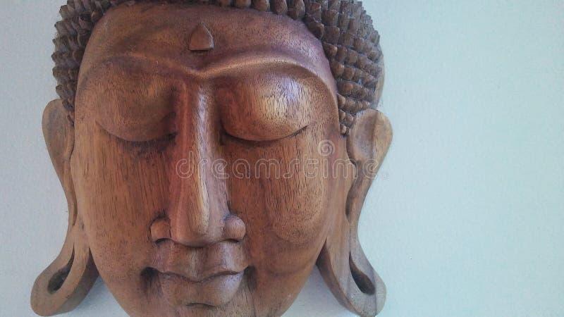 Χαρασμένο πρόσωπο 2 του Βούδα στοκ εικόνα με δικαίωμα ελεύθερης χρήσης