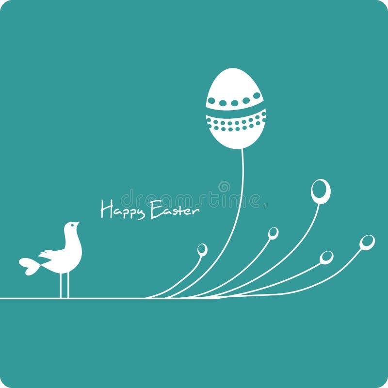 χαριτωμένα αυγά Πάσχας πο&upsilo διανυσματική απεικόνιση