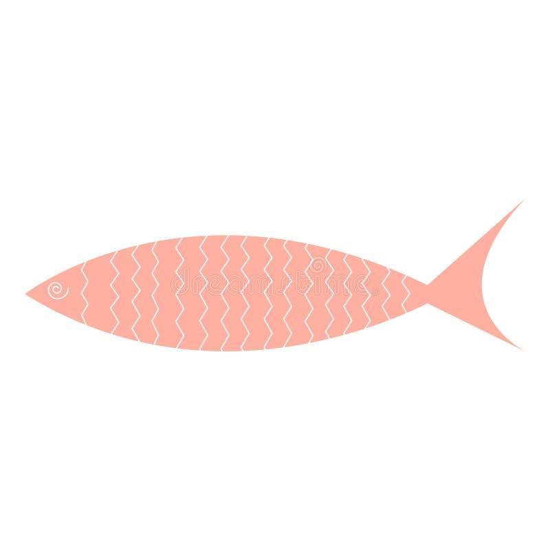 Χαριτωμένα εικονίδια ψαριών που δείχνουν υδρόβια ζώα με διάφορα πτερύγια, κλίμακες, ουρές και βράγχια να κολυμπούν στο νερό Καλό  διανυσματική απεικόνιση