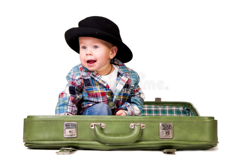 Download χαριτωμένη βαλίτσα συνεδ&r στοκ εικόνες. εικόνα από ένας - 22782062