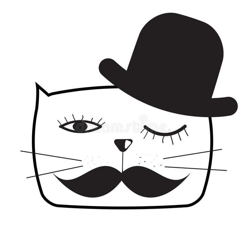 Download Χαριτωμένη Handdrawn διανυσματική απεικόνιση γατών Διανυσματική απεικόνιση - εικονογραφία από χιούμορ, σχέδιο: 62714318