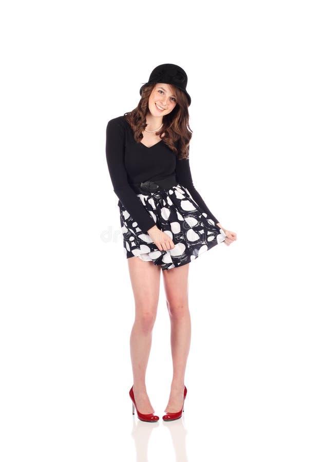 χαριτωμένος έφηβος στοκ φωτογραφία με δικαίωμα ελεύθερης χρήσης