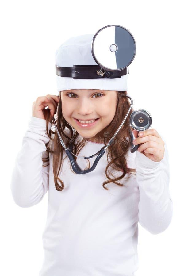 Χαριτωμένος γιατρός στοκ εικόνα με δικαίωμα ελεύθερης χρήσης
