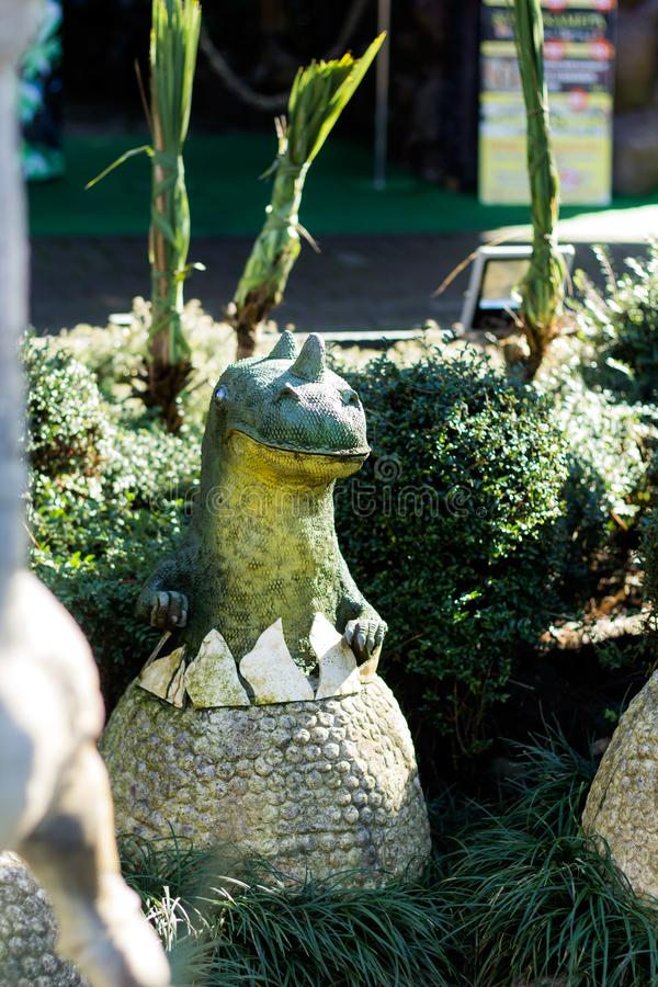 Χαριτωμένος ο λίγος Dino στοκ φωτογραφία με δικαίωμα ελεύθερης χρήσης