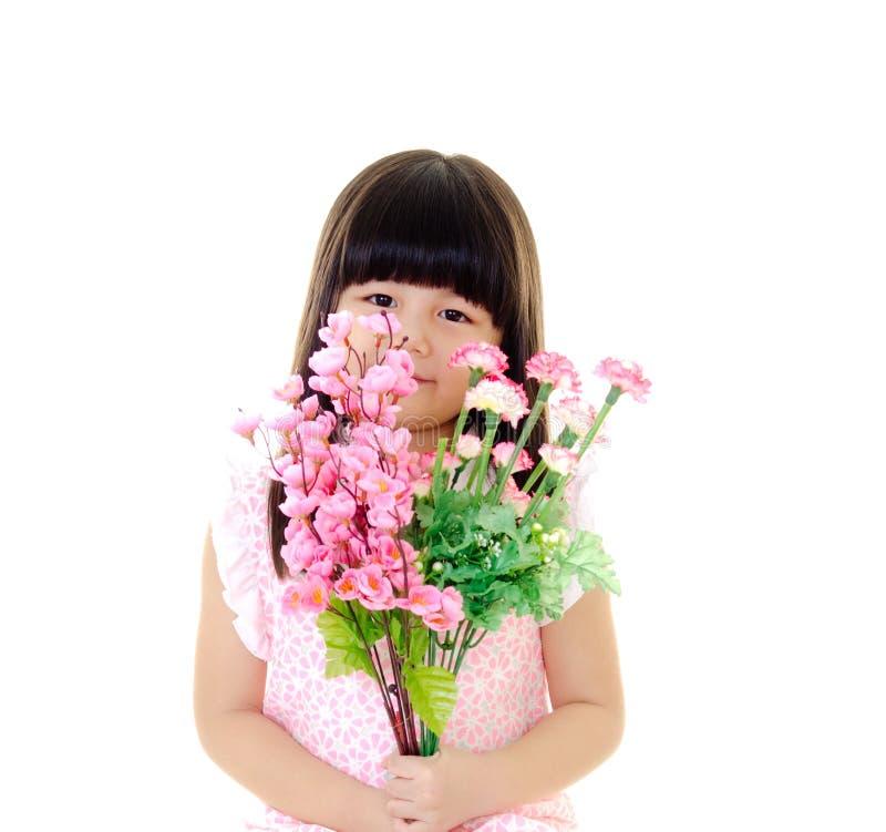 Χαριτωμένο ασιατικό κορίτσι στοκ εικόνες με δικαίωμα ελεύθερης χρήσης