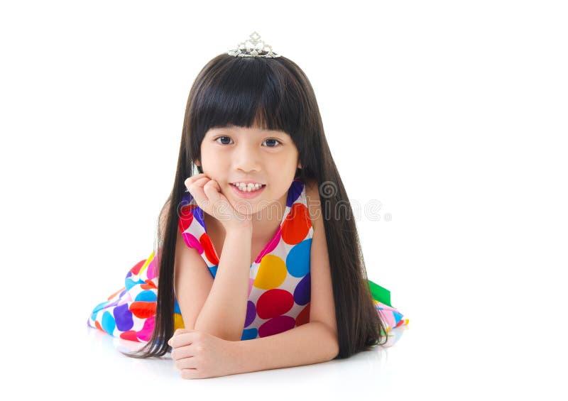 Χαριτωμένο ασιατικό κορίτσι στοκ φωτογραφία με δικαίωμα ελεύθερης χρήσης