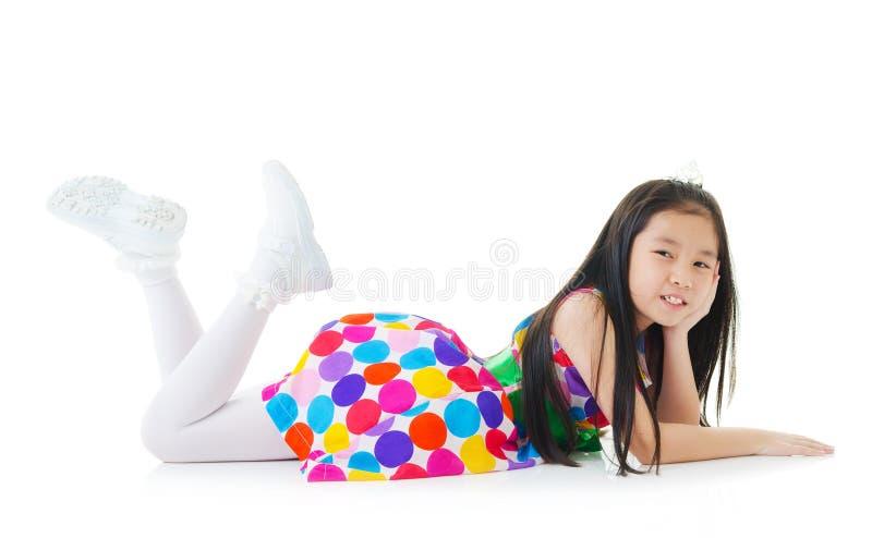 Χαριτωμένο ασιατικό κορίτσι στοκ φωτογραφίες με δικαίωμα ελεύθερης χρήσης