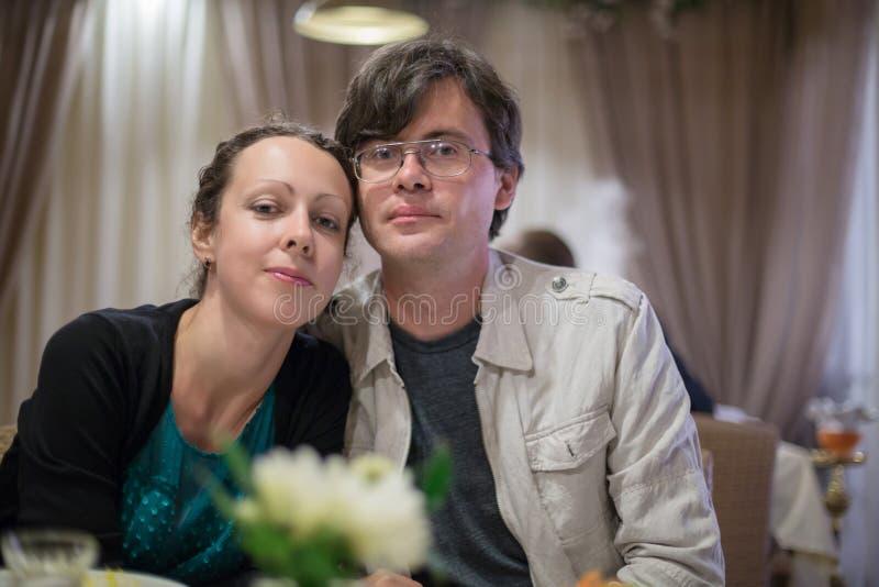 Χαριτωμένο ζεύγος στοκ φωτογραφία
