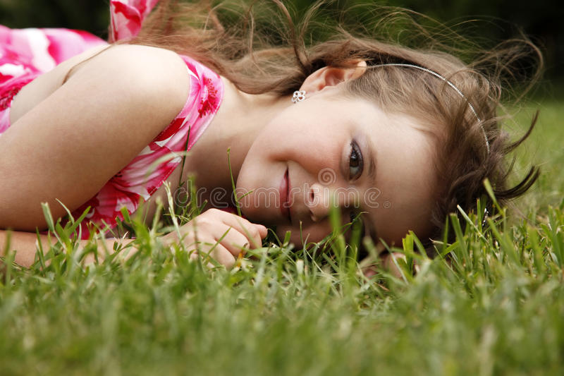 χαριτωμένο κορίτσι λίγα στοκ φωτογραφίες με δικαίωμα ελεύθερης χρήσης