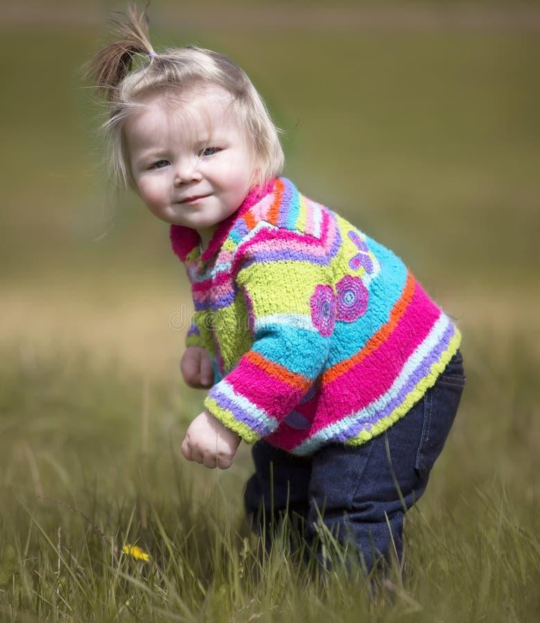 χαριτωμένο κορίτσι λίγα στοκ φωτογραφία